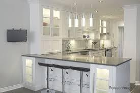 comptoir de cuisine quartz blanc réalisations cuisine
