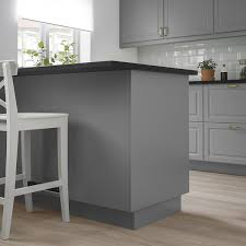 ikea kitchen cabinet back panel bodbyn cover panel gray 25x30