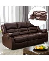 Brown Leather Reclining Sofa by Huge Deal On Amalfi Brown Leather Power Motion Reclining Sofa