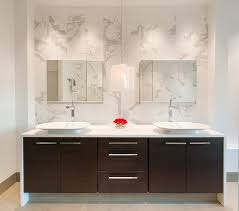 Double Duty Vanity Traditional Bathroom Vanity Design In Rich - Modern bathroom vanity designs
