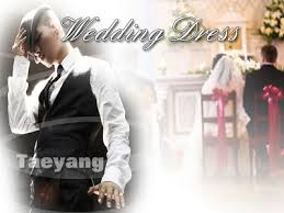 wedding dress lyric taeyang wedding dress taeyang korean version c letter notation