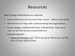 merit badge counselor training ppt video online download