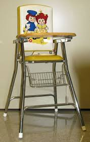 Vintage Cosco High Chair 109 14955 Raggedy Ann And Andy Highchair Highchair Character