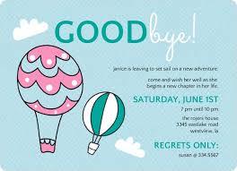 farewell party invitation goode party invitation blueklip goodbye party invites we like design