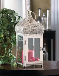 silver moroccan dome candle holder lantern wedding centerpiece