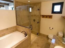 Bath And Shower In Small Bathroom Small Bathroom Ideas With Separate Tub And Shower Image Bathroom