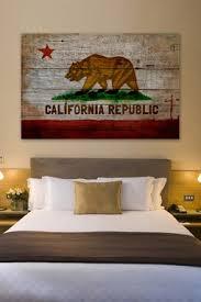 oliver gal california republic american reclaimed wood wall
