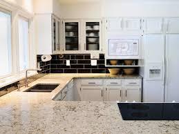 ideas for kitchen backsplash with granite countertops subway tile kitchen backsplash with granite countertops