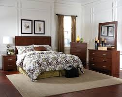 modern brown set with steel hardware kennedy bedroom set