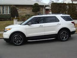 Ford Explorer Xlt 2013 - explorer sport with deezee running boards ford explorer and ford