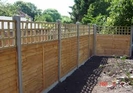 Types Of Fencing For Gardens - fence types u2013 d e p fencing and landscaping in skegness
