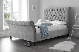 sienna sleigh bed beds on legs