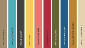 sherwin williams 2017 colors of the year sherwin williams 2017 color trend predictions