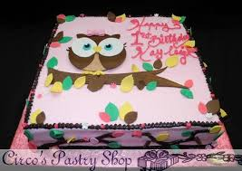 owl birthday cakes birthday cakes custom fondant cakes page 16