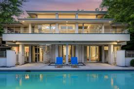 house with pool architect u0027s gorgeous modern house with pool asks 1 1m curbed