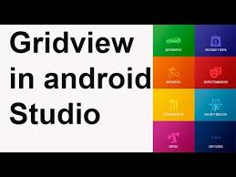 gridview in android studio - Gridview Android
