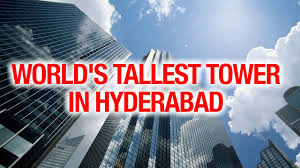 cm kcr plans to build world tallest tower in the hyderabad city