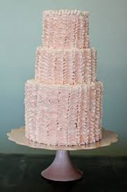 wedding cakes pictures ruffled wedding cakes