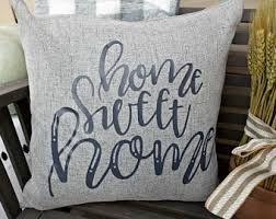 home sweet home pillow cover modern farmhouse gifts under
