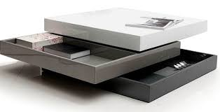 Contemporary Coffee Table Top Contemporary Storage Coffee Table For Home Decoration For
