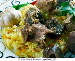 cuisine ouzbek ouzbek plat riz agneau agneau cuisine central ouzbek