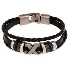 braided leather bracelet mens images Handmade multilayer braided leather bracelet wristband for men jpg
