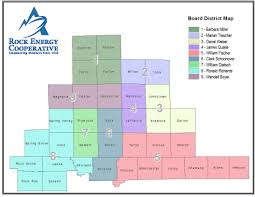 Janesville Wi Map Board Of Directors Rock Energy Cooperative