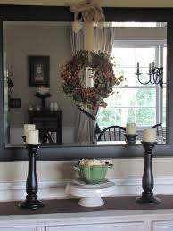 Mirror Over Buffet by A Touch Of Fall Beneath My Heart