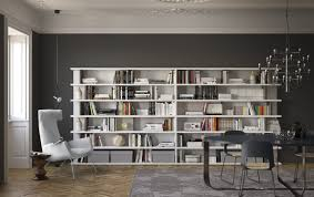 floor to ceiling bookcase corner wall mounted modular