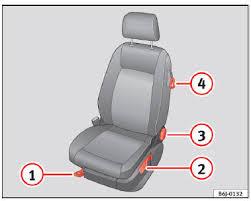 regle siege auto seat ibiza réglage des sièges avant sièges avant sièges et