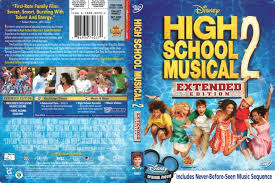high school high dvd high school musical 2 2007 r1 dvd cover dvdcover