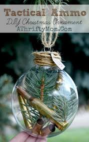 tactical ammo diy ornament for the outdoors