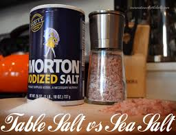 sea salt and table salt table salt vs sea salt what s the difference coconuts kettlebells