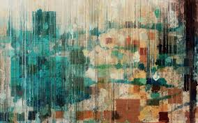 monotype print wall colors texture blue background hd wallpaper