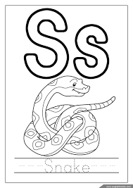 letter s coloring pages youtuf com