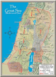 Map Of Mediterranean Sea Biblical Archaeology Map 13