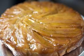 banana maple upside down cake flair for food