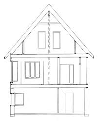 draw house plans how to draw house cross sections