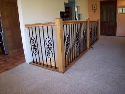 Iron Banisters And Railings Iron U0026 Wood Stair Railing Contractors Laguna Niguel Ca