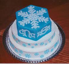 snowflake wedding cakes for winter brides weddibles by wed central