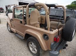 gold jeep 1999 wrangler sahara ed e0055