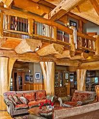luxury log home interiors courtesy of pioneer log homes of b c log homes