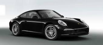 Porsche 911 Carrera - porsche 911 carrera black edition boxster black edition 2016