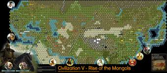 Map Of Ancient Greece City States by Civilization 5 Scenario Rise Of The Mongols Map
