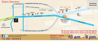 Orlando Premium Outlets Map by Premium Outlet Ayutthaya พร เม ยม เอ าท เล ท อย ธยา In บางปะอ น