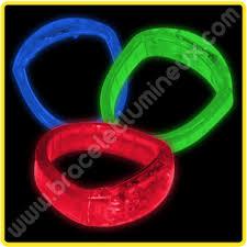 bracelet led images Bracelets led pour f te jpg