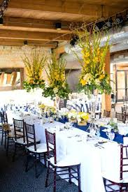 Yellow And Blue Decor Blue And Yellow Wedding Reception Decor Wedding Theme Colours