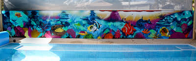 graffiti artists for hire underwater mural