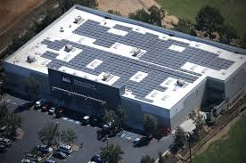 Southern Roofing Center by Commercial Solar Panel Installation Rooftop Solar Company