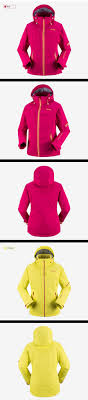 vector ski jacket women warm waterproof winter coat female